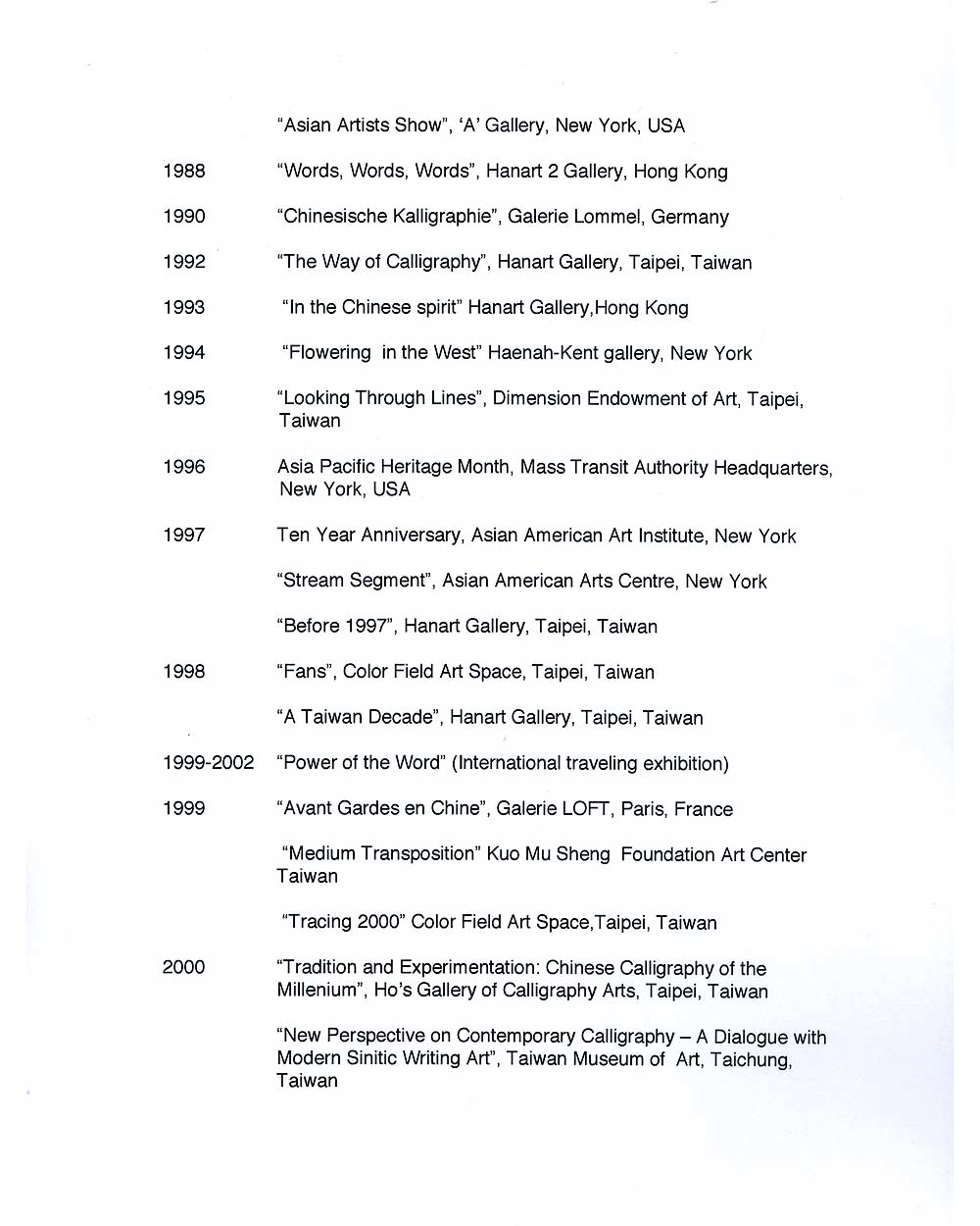 Ming Chip Fung's Resume, pg 3